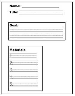 Procedure Graphic Organizer