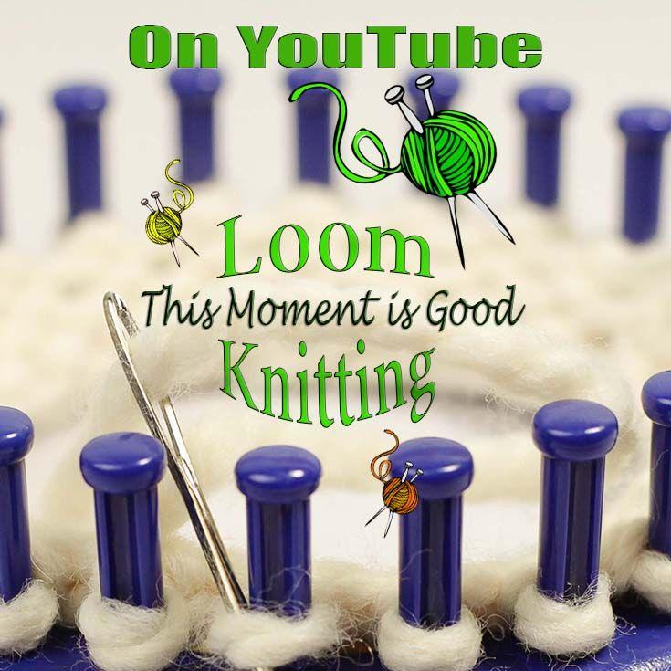 Loom Knitting Videos... | Love of knitting | Pinterest | Telar ...