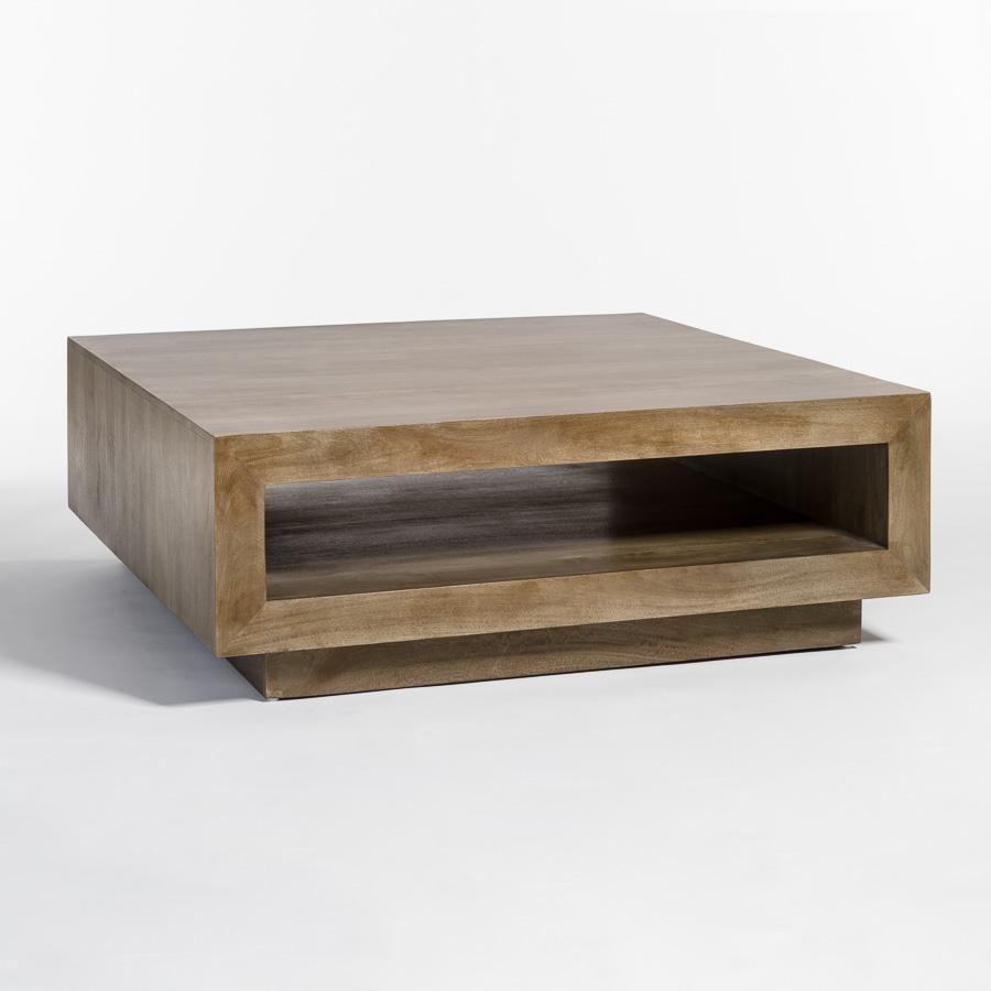 Amazon Com Sauder Soft Modern Cocktail Coffee Table In Fine Walnut Finish Kitchen Dining [ 1000 x 1000 Pixel ]