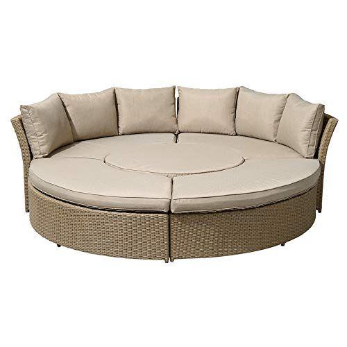 Super Nova Windsor Outdoor Rattan Round Set Garden Sofa Daybed Inzonedesignstudio Interior Chair Design Inzonedesignstudiocom