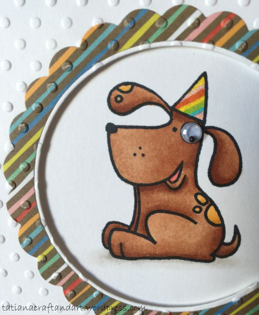 Happy BarkDay Card Birthday Card Series Cards handmade