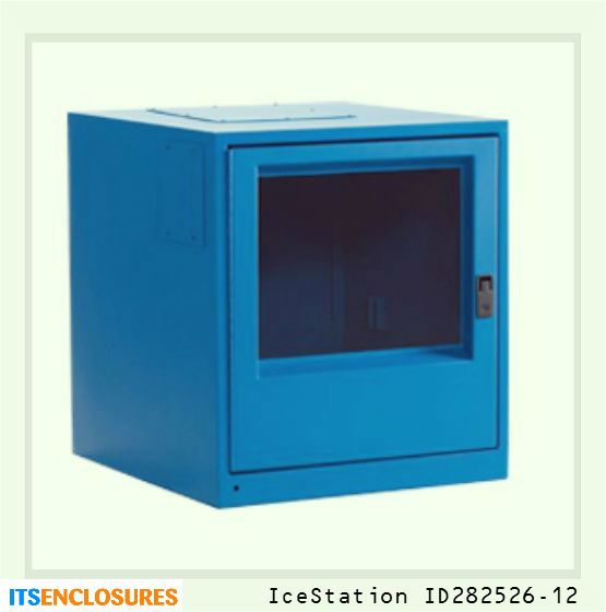 IceStation ID282526-12 industrial enclosure:  Your PC would be rendered useless without your monitor! The same enemies that can harm your PC - dust and liquids, can also damage your monitor. Protect both your PC and monitor in an all-in-one NEMA rated enclosure.
