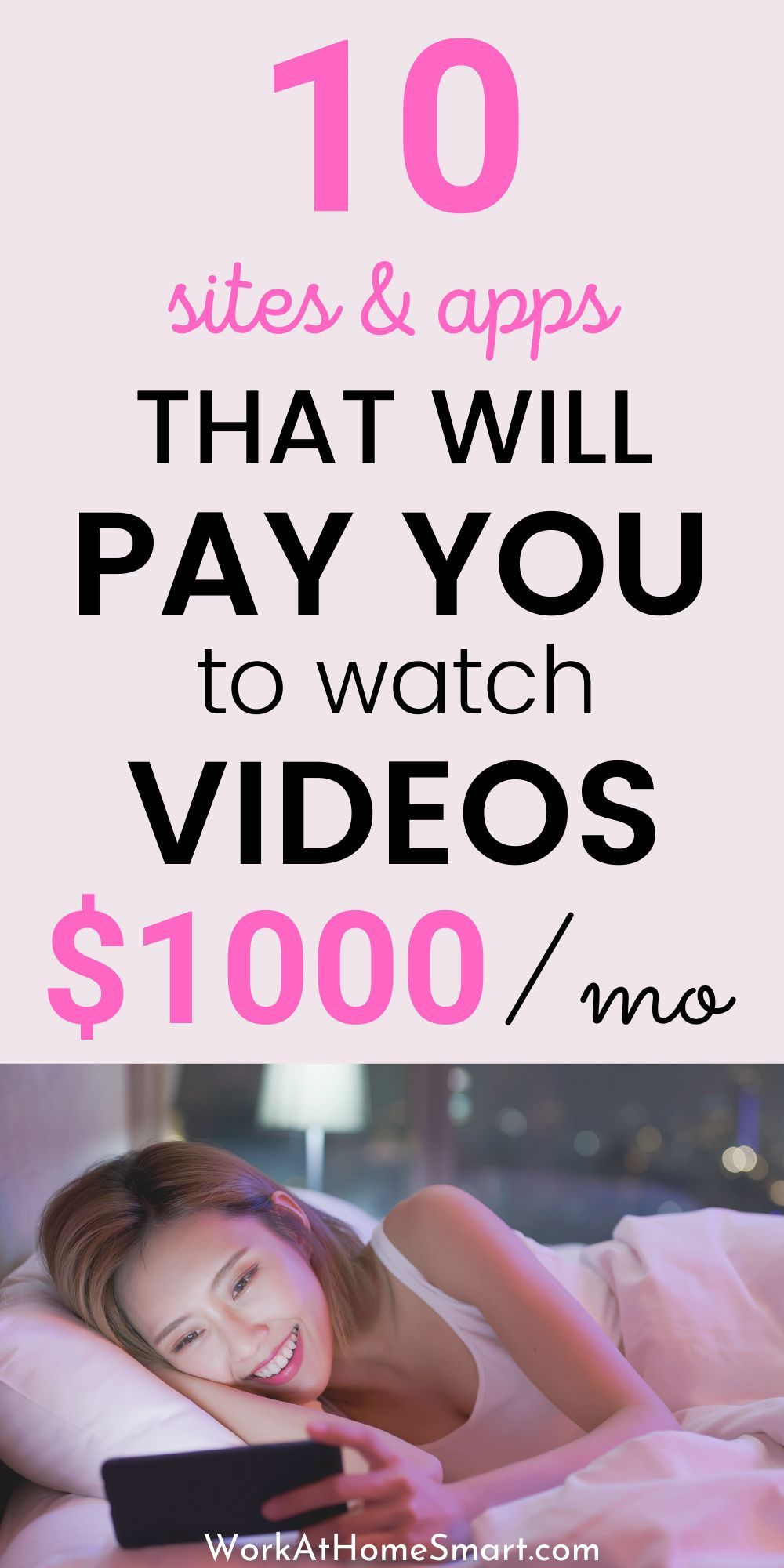 Watch Videos For Money: 10 Legit Sites & Apps That