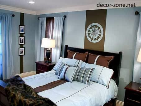Blue Bedroom Ideas Brown Blue Paint Color Combinations For The