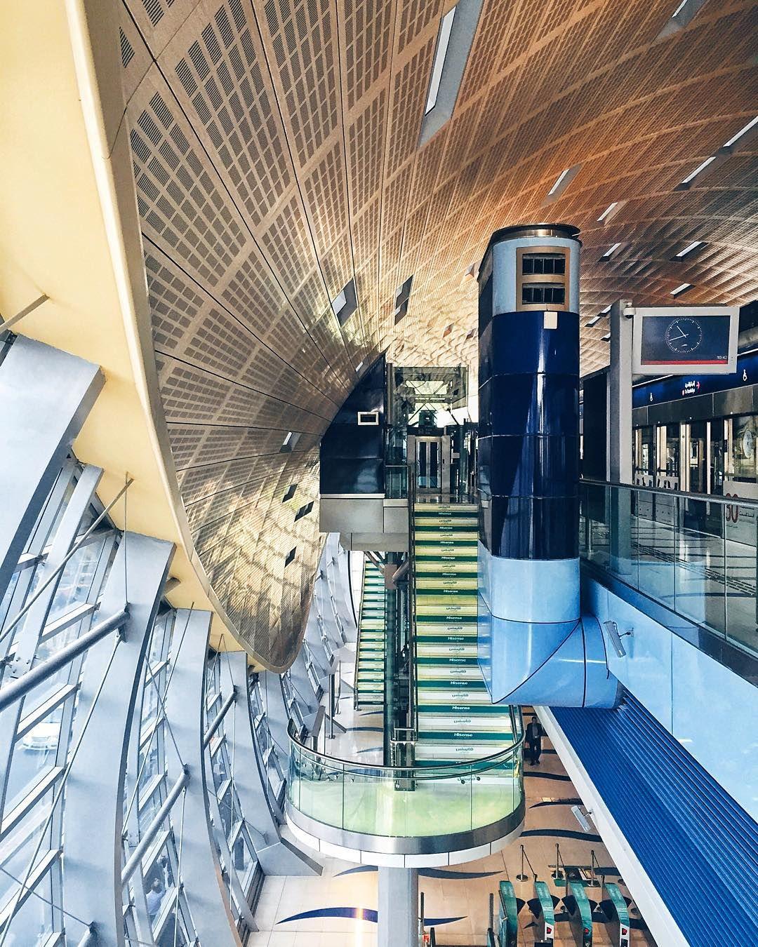 world trade center dubai metro station