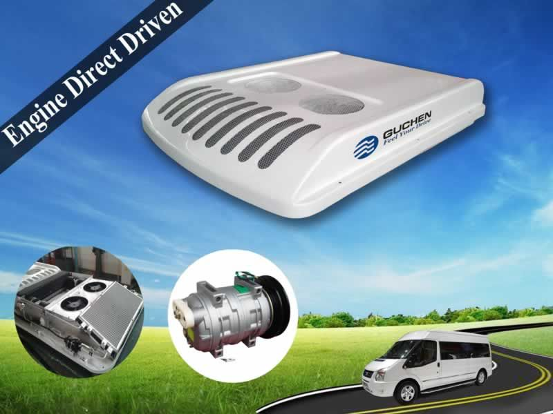 Minibus Van Air Conditioner Smalll Bus Roof Top Air Conditioner Portable Air Conditioning Mini Bus Commercial Vehicle