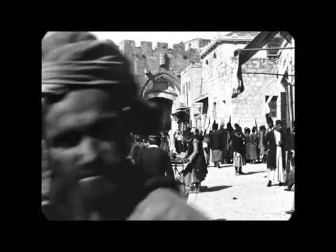 April 1897 - Jaffa Gate in Jerusalem (speed corrected w