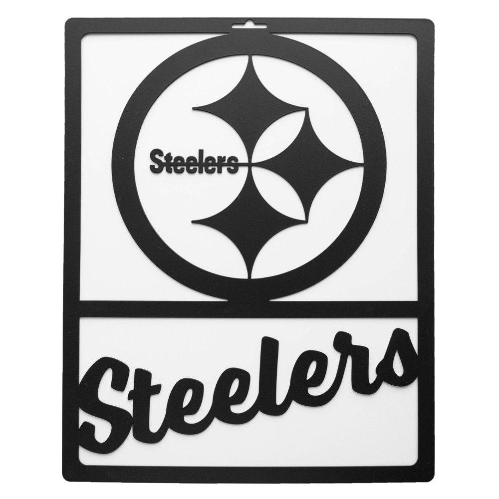 Nfl Pittsburgh Steelers Metal Team Sign Steelers Pittsburgh Steelers Steelers Sign