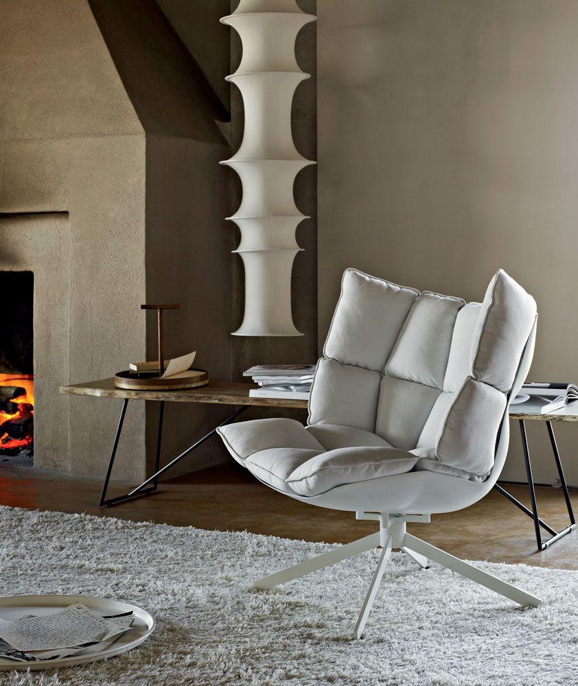 Armchair: HUSK - Collection: B&B Italia - Design: Patricia ...