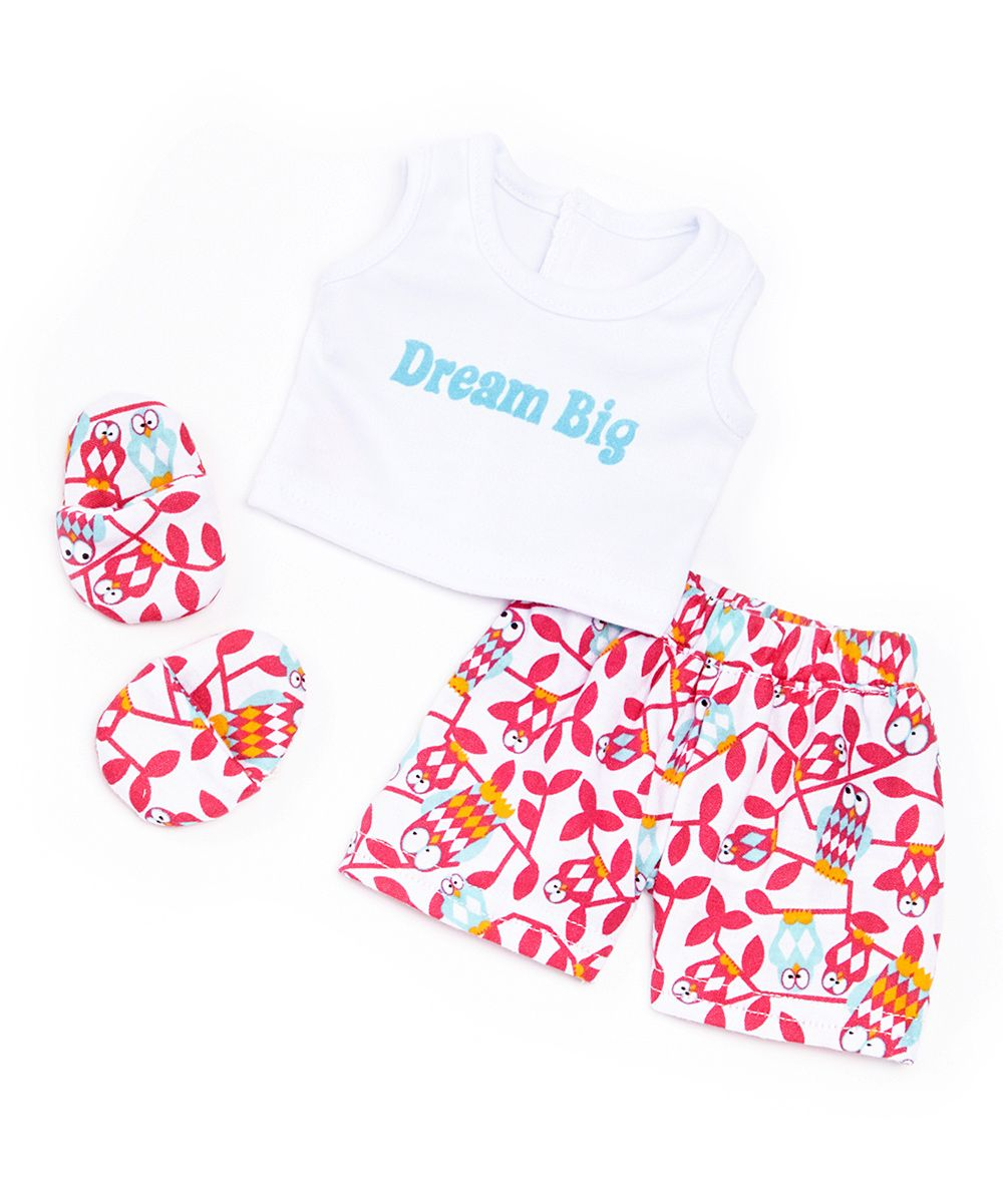 'Dream Big' Pajama Outfit for 18'' Doll