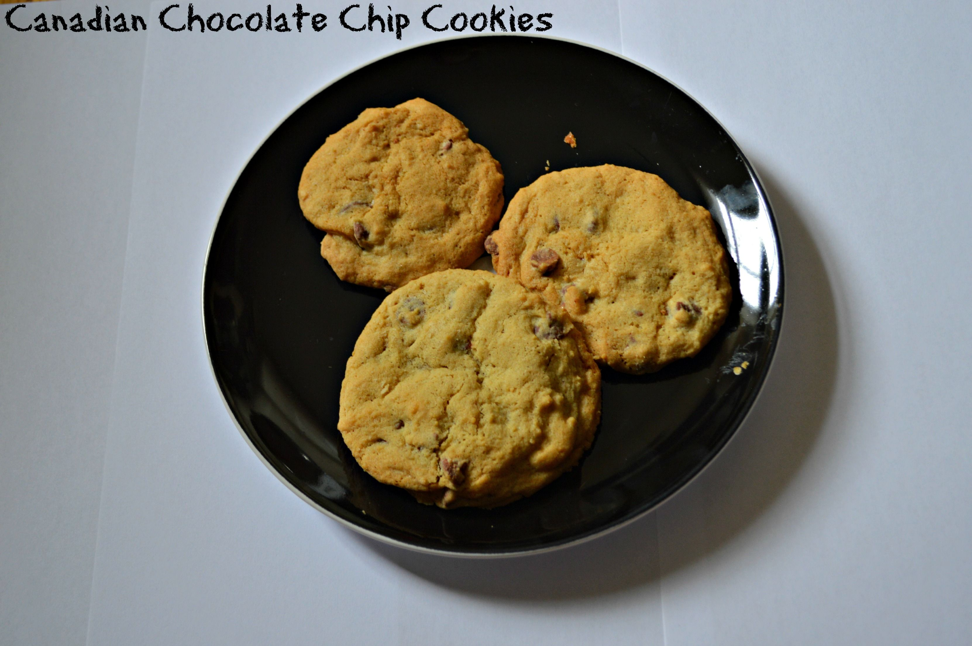 The chocolate chip cookies I made from an @olson_anna recipe to accompany my review of What If - gotta love Canadian desserts!