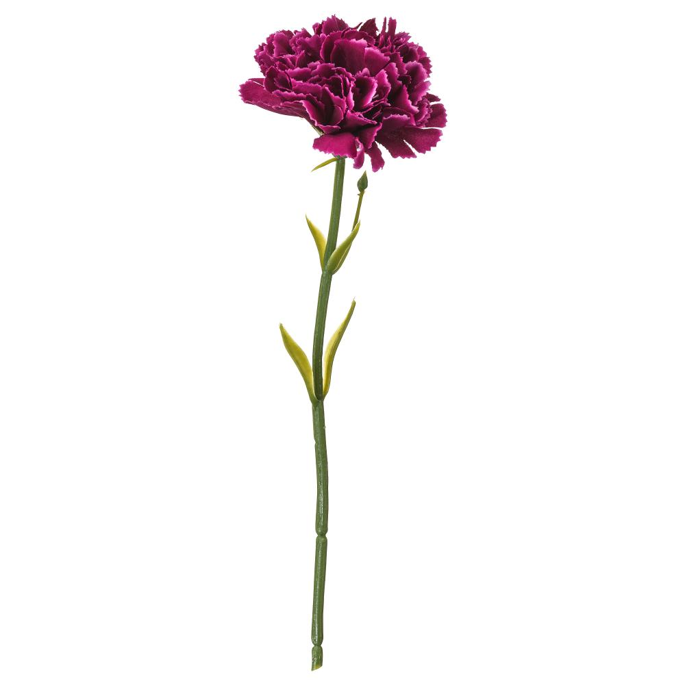 SMYCKA Artificial flower carnation, dark lilac 30 cm