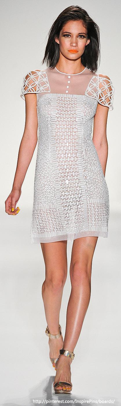 Mastroianni at New York Fashion Week Spring 2014