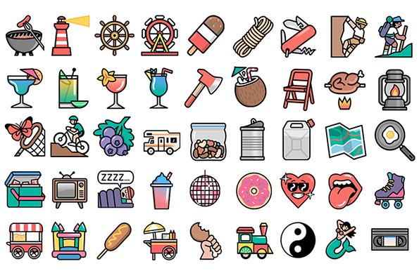 Dan Woodger: Line Emoji