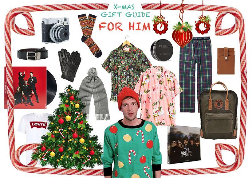 FASHION SUNDAE: X-Mas Gift Guide: For Him