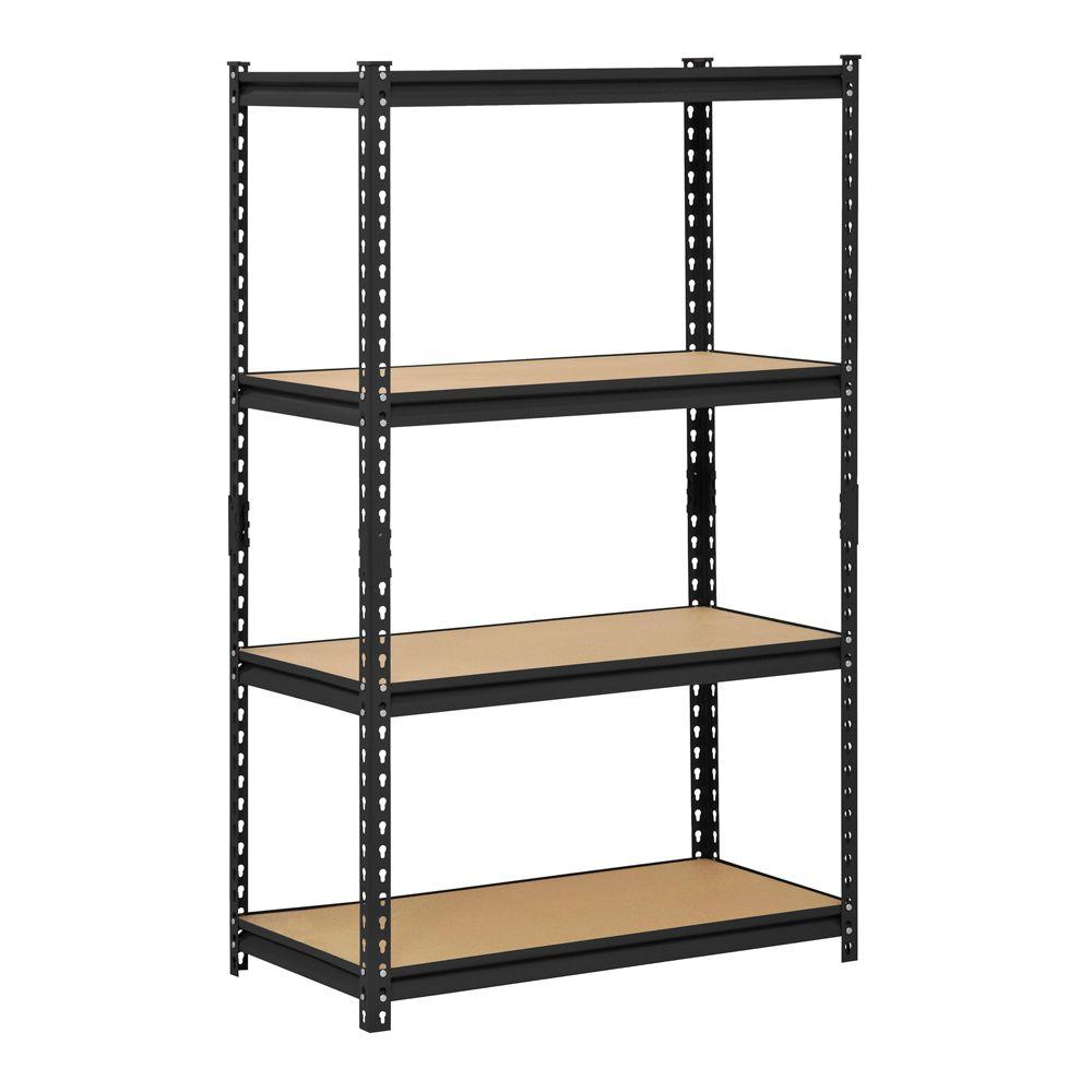 Excellent Edsal 60 In H X 36 In W X 18 In D 4 Shelf Steel Shelving Evergreenethics Interior Chair Design Evergreenethicsorg
