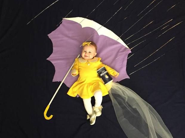 morton salt girl baby picture morton salt girl baby costume 5 months baby picture