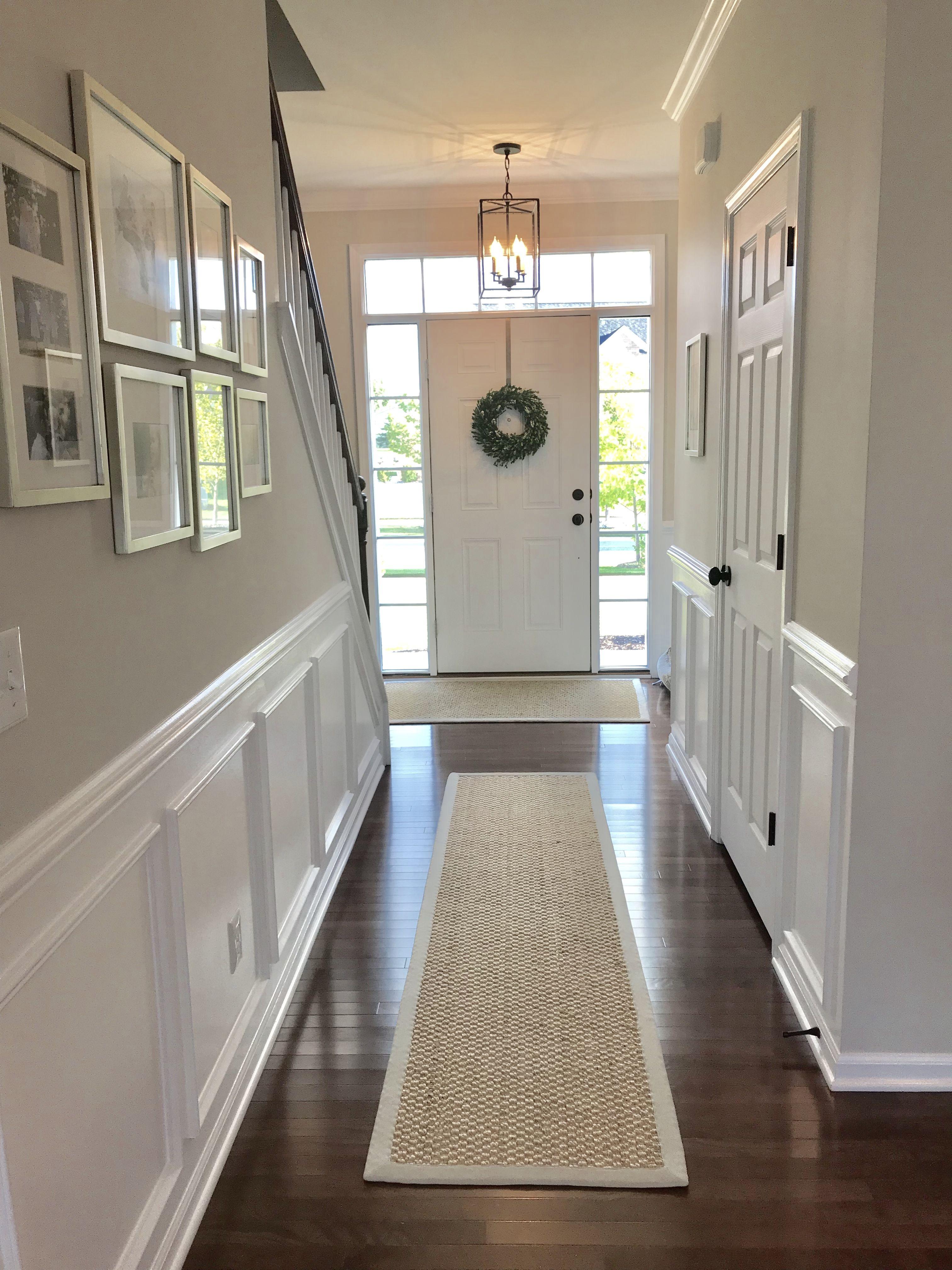 Hallway And Entryway Edgecomb Gray Benjamin Moore Edgecomb Gray