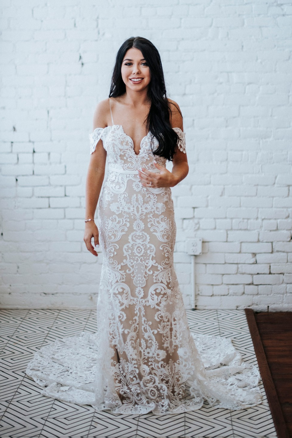 Thalia Bridal Gown Exclusive Luxe Collection Goddess By Nature Boho Wedding Dress Lace Australian Wedding Dresses Wedding Dresses [ 1452 x 968 Pixel ]