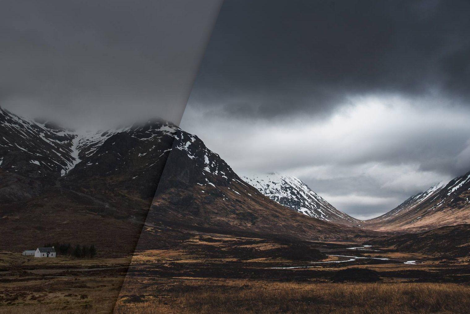 Free Dark Moody Lightroom Presets Lightroom Lightroom Presets Landscape Photography