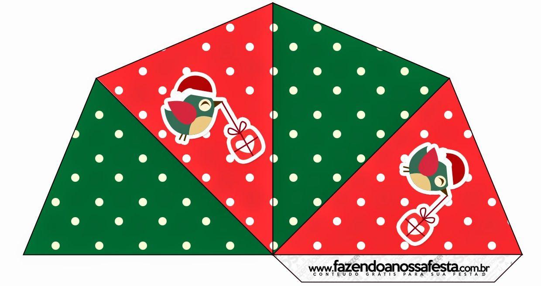 Pajaritos de Navidad: Imprimibles Gratis para Fiestas. | cajas ...