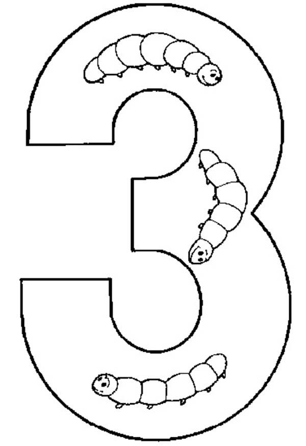 Get Number 3 Coloring Page Bulk Color In 2021 Coloring Pages Get Number Online Coloring