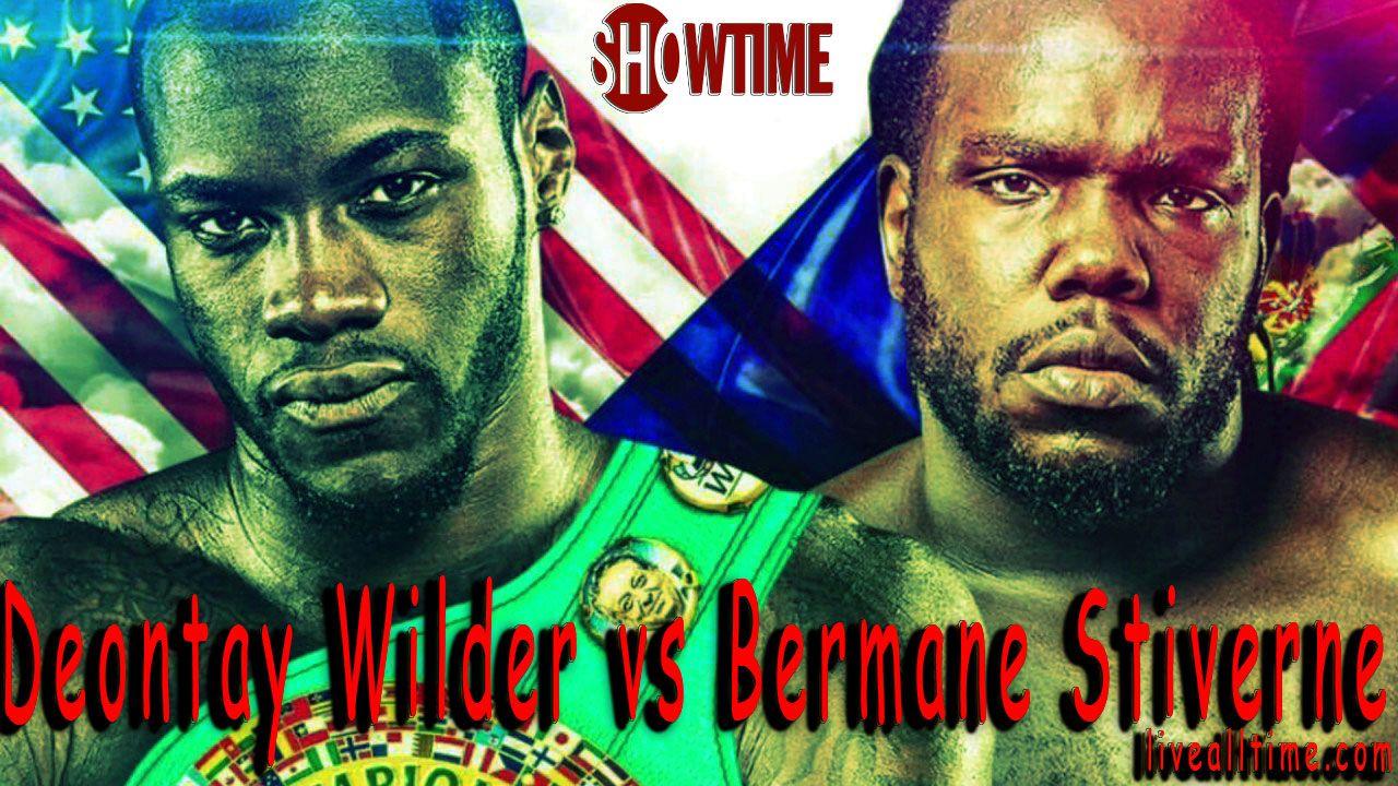 Deontay Wilder vs Bermane Stiverne Live Streaming