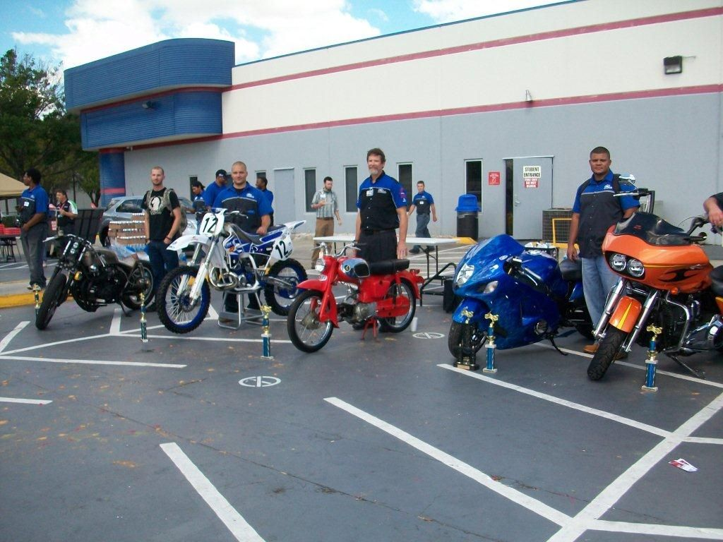 Motorcycle Mechanics Institute in Orlando had a student