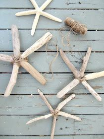 The Wicker House Driftwood Starfish Driftwood Crafts Beach