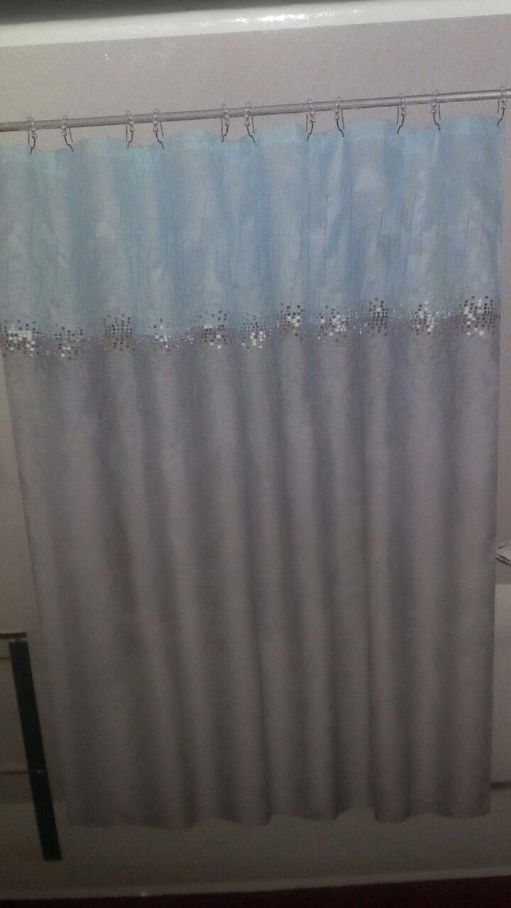 Bling Shower Curtain 10 50 At Family Dollar Curtains Shower