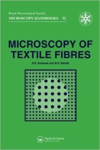 Textile Fibre Microscopy Textile Study Center Libros Lectura Culturales