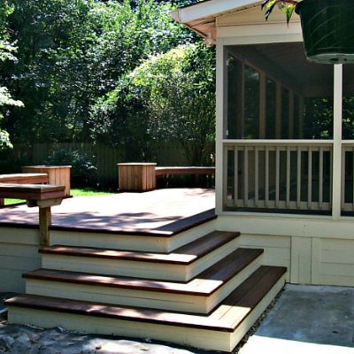 Screened Porches Patio Deck Designs Screened Porch Designs Deck Steps