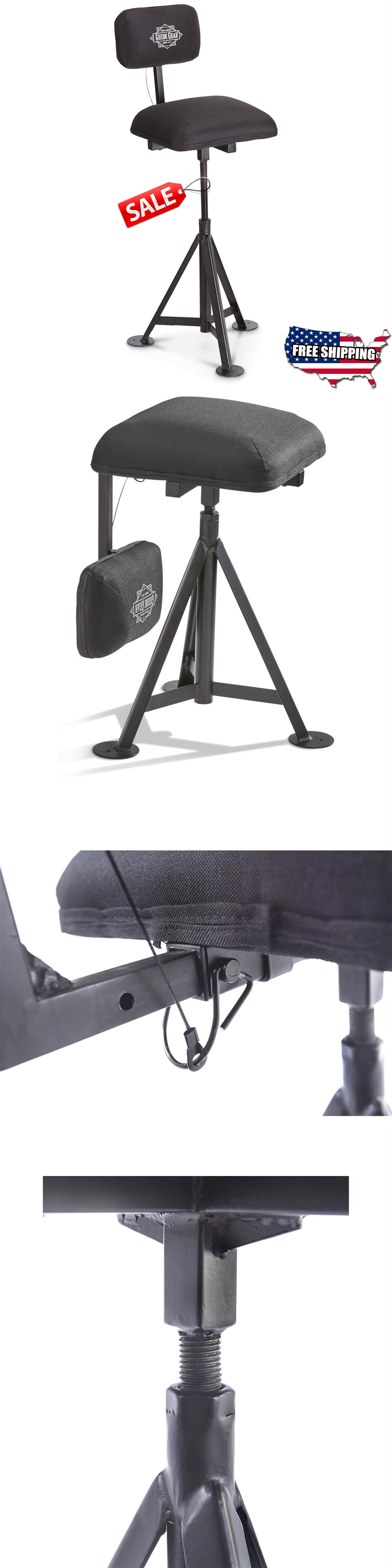 Seats and Chairs 52507 Swivel Blind Stool 360° Hunting Chair Adjustable Backrest Seat C&  sc 1 st  Pinterest & Seats and Chairs 52507: Swivel Blind Stool 360° Hunting Chair ... islam-shia.org