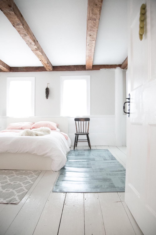Terrace Gray Bedroom Wooden Floor Home Decor Room