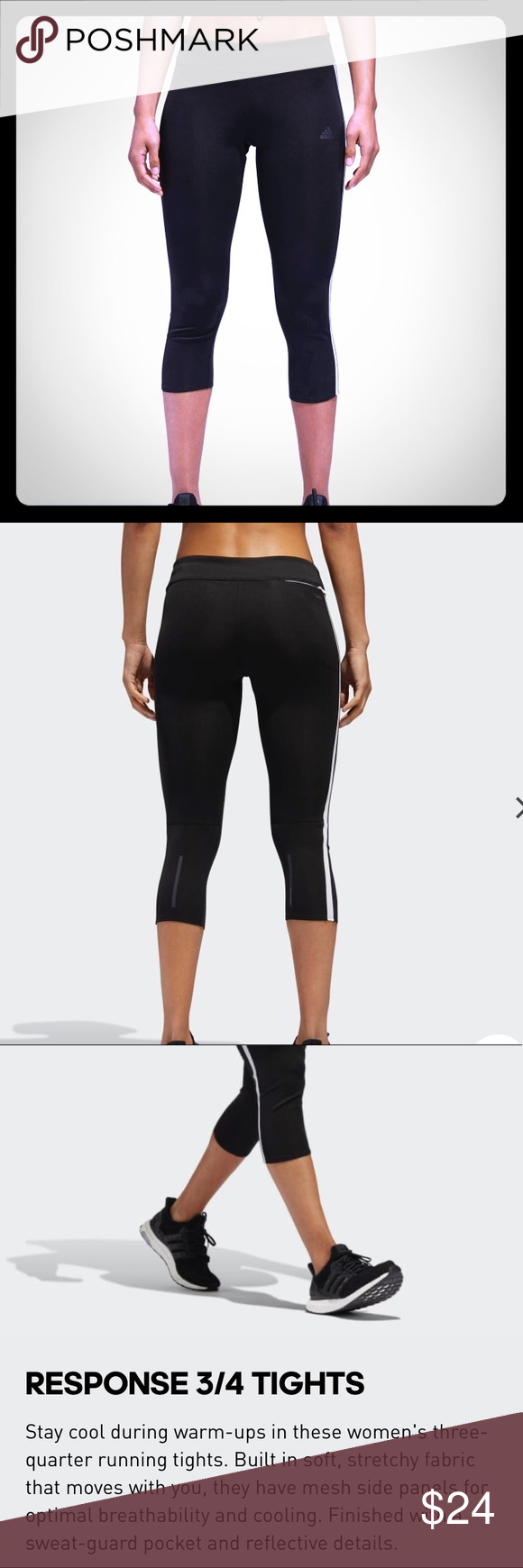 Uomo ricco soddisfazione ie  Adidas response climacool tights in 2020 | Adidas response, Leggings are  not pants, Tights