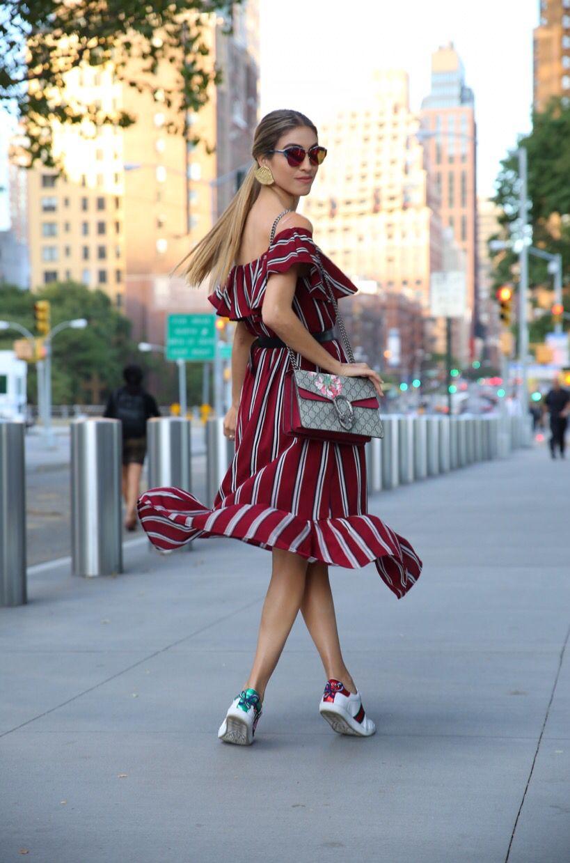 7bd777d1fb39 NYFW SS 2017 Gucci sneakers