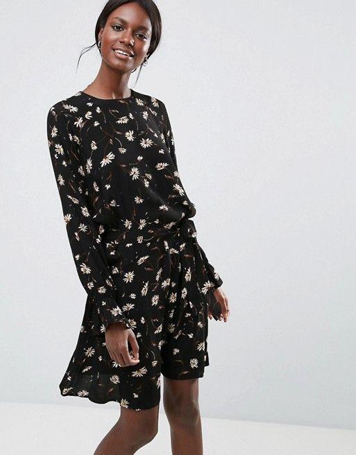05706d24d2c936 Y.A.S Floral Print Mini Dress