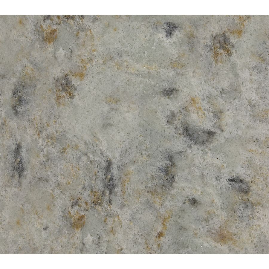 Allen Roth Titanium Swell Quartz Kitchen Countertop Sample Lowes