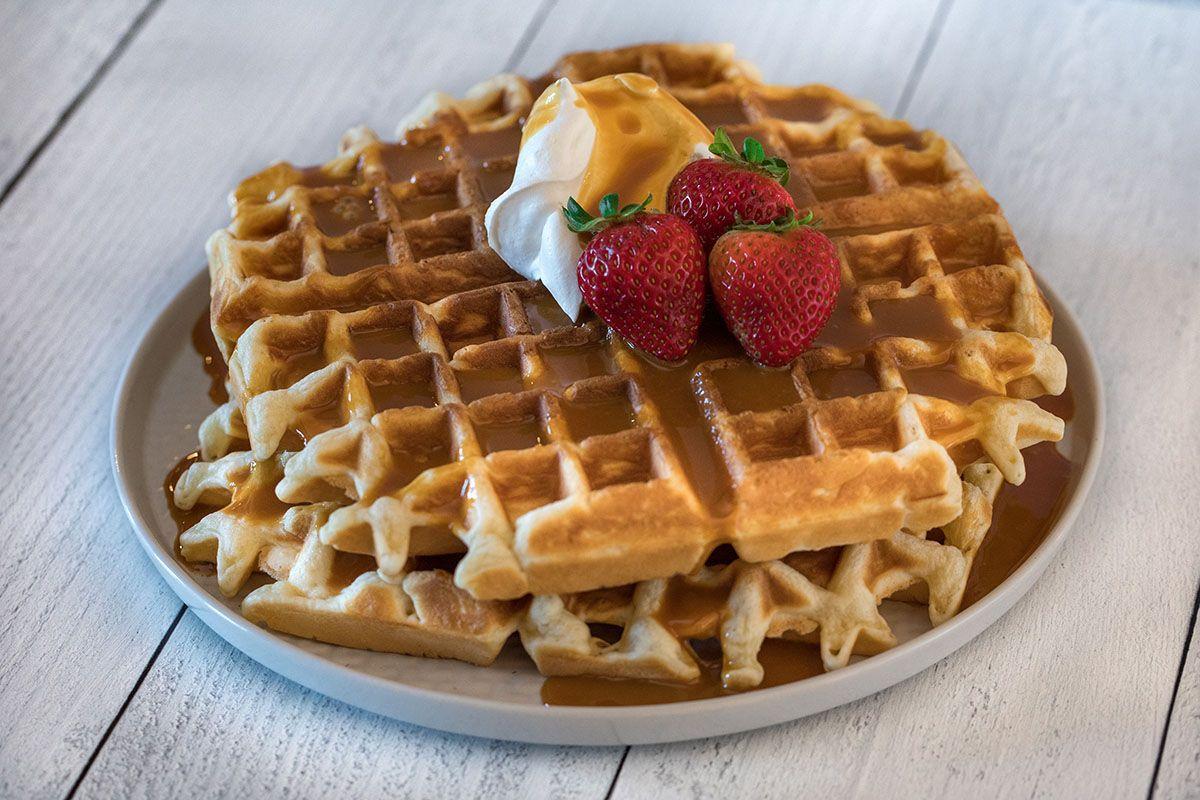 Campground cornmeal waffles recipe in 2020 waffles