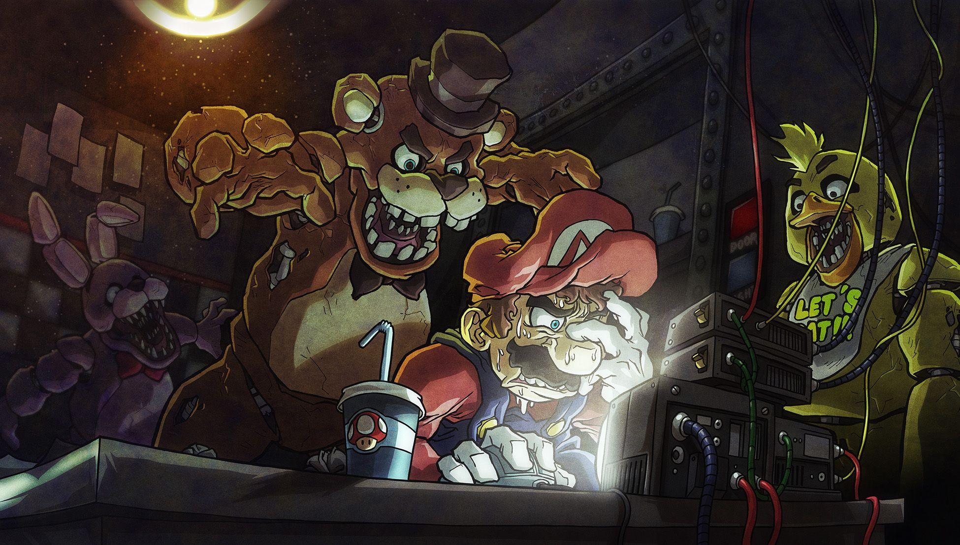 Mario vs. FNAF