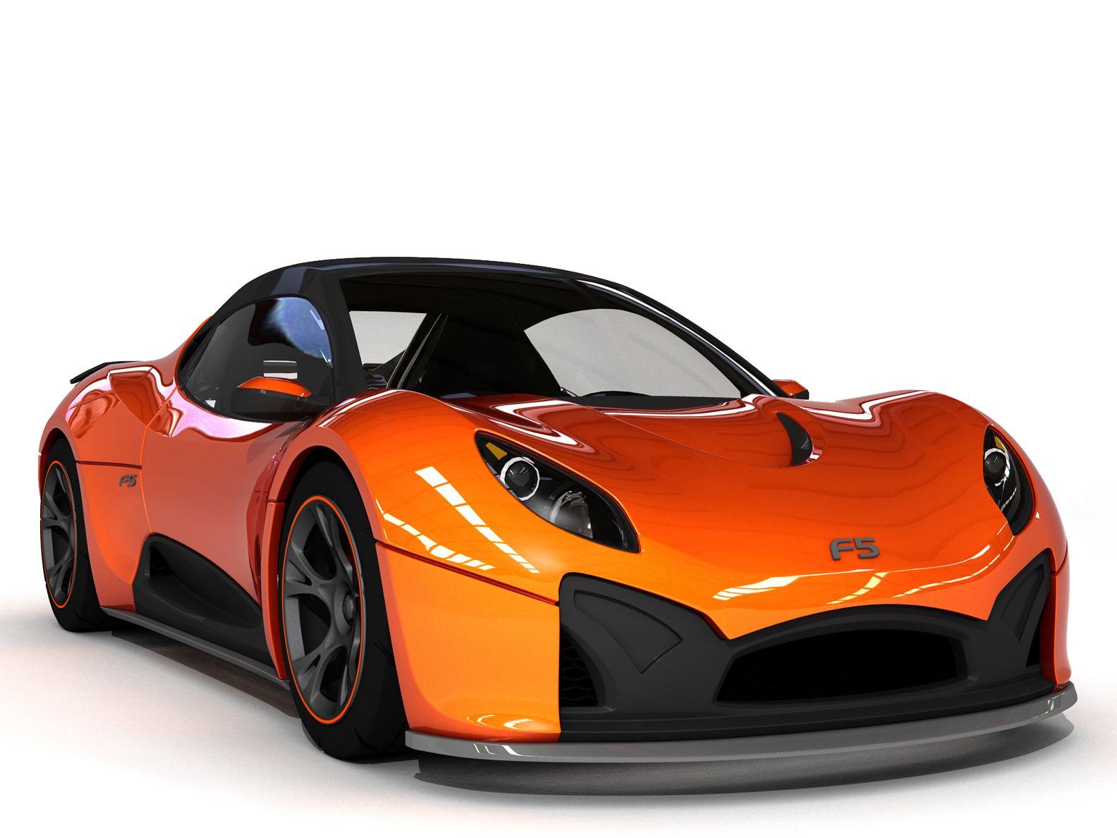 Orange Cool Car Orange car, Factory five