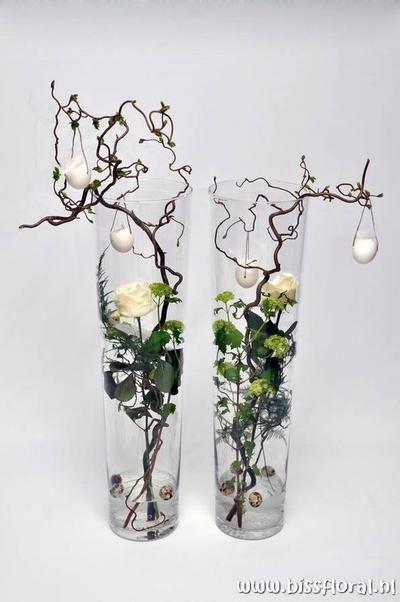 Paas Decoratie Voor In Een Vaas Vaas Decoraties Paasdecoratie Vaas Ideeen