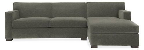 With Firm Seat Cushions A Shallow Depth And Thick Welting Along The Tight Back Cushions The Dean Sectional Combines Vint Sofa Living Room Sectional Sectional