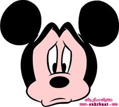 ميكى زعلان Mickey Mickey Mouse Cartoon Disney Clipart