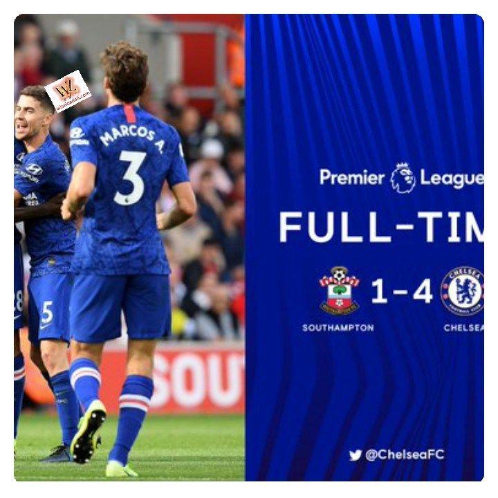 Southampton Vs Chelsea 1 4 Highlights Download Video Southampton Football Highlight Chelsea