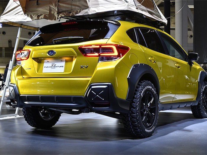Subaru Uk Makes Pitch To Outdoor Enthusiasts With New Crosstrek