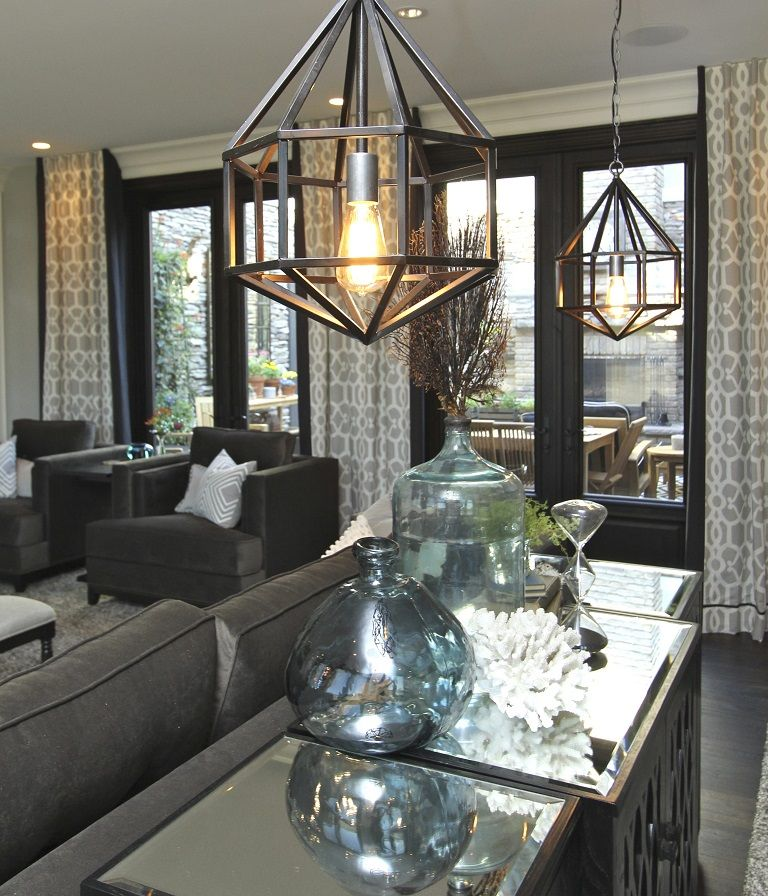 Hamptons Inspired Luxury Home Family Room Robeson
