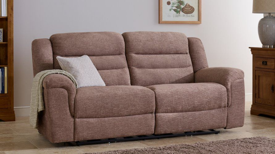 Fabric Sofas | The Brody Range | 3 Seater and 2 Seater Leather Sofas ...