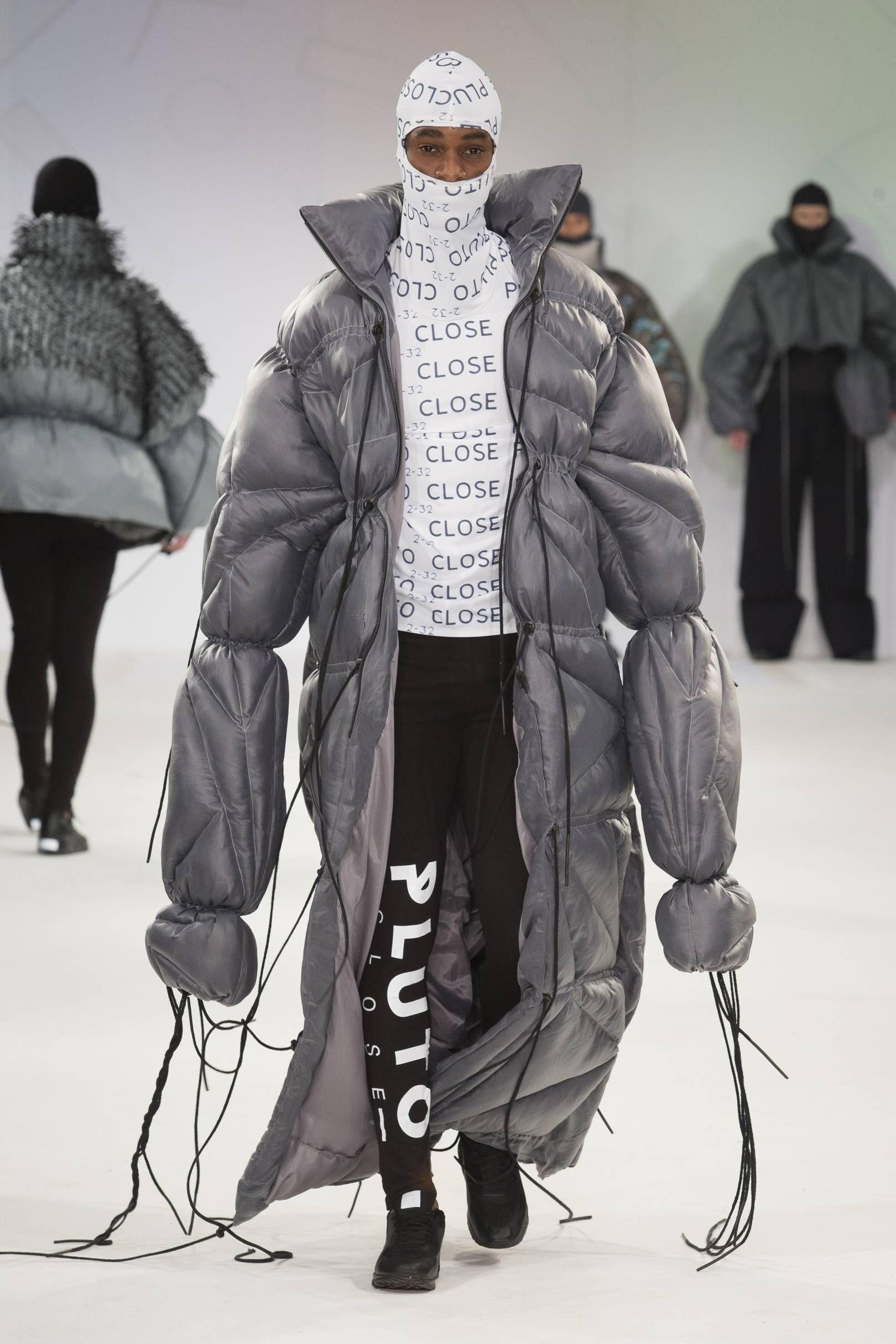 Manchester School Of Art Autumn Winter 2015 Ready To Wear Mens Outerwear Fashion Fashion Weird Fashion