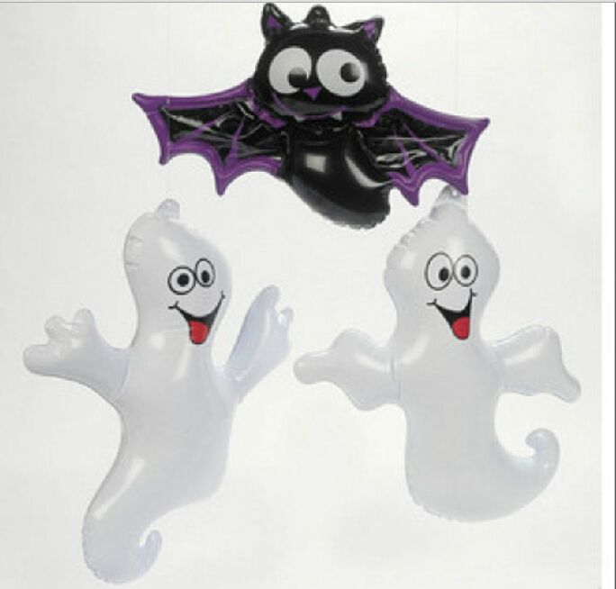 2016 Free Shipping Hot Sale Pvc Inflatable Ghost Animal Bat Toys For - halloween decorations for sale